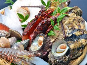 海鮮焼き料理