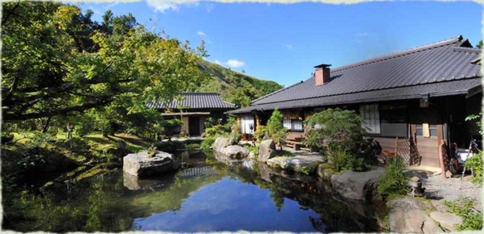 【黒川温泉】源流の宿 帆山亭 | 熊本県 阿蘇 東奥黒川、静かな山間に佇む、離れ宿